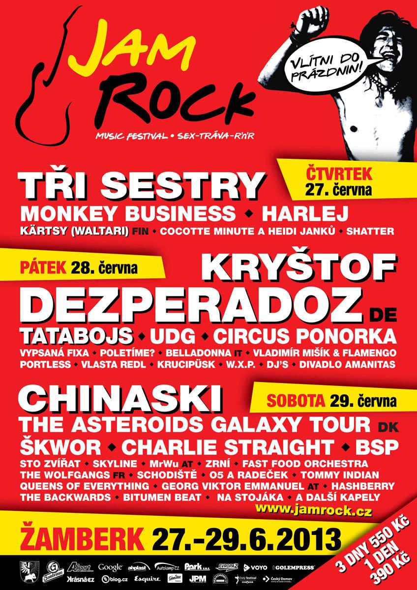 JamRock 2013 plakat