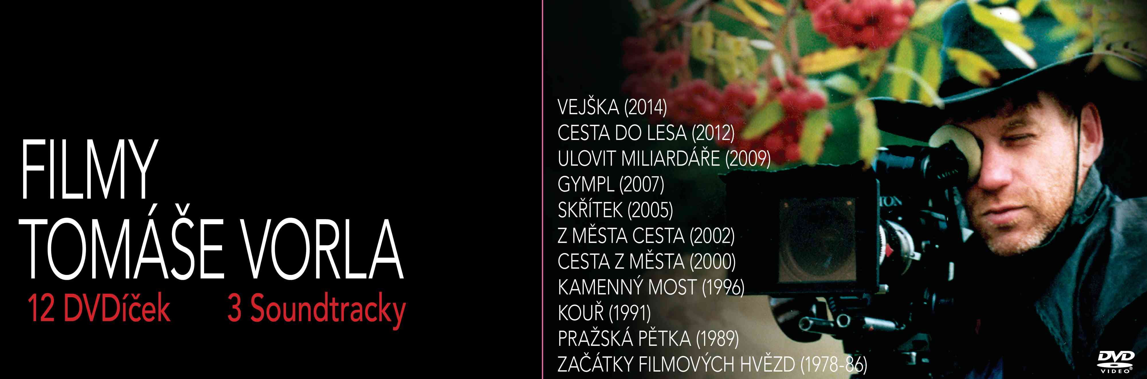 Kolekce DVD Filmy Tomase Vorla
