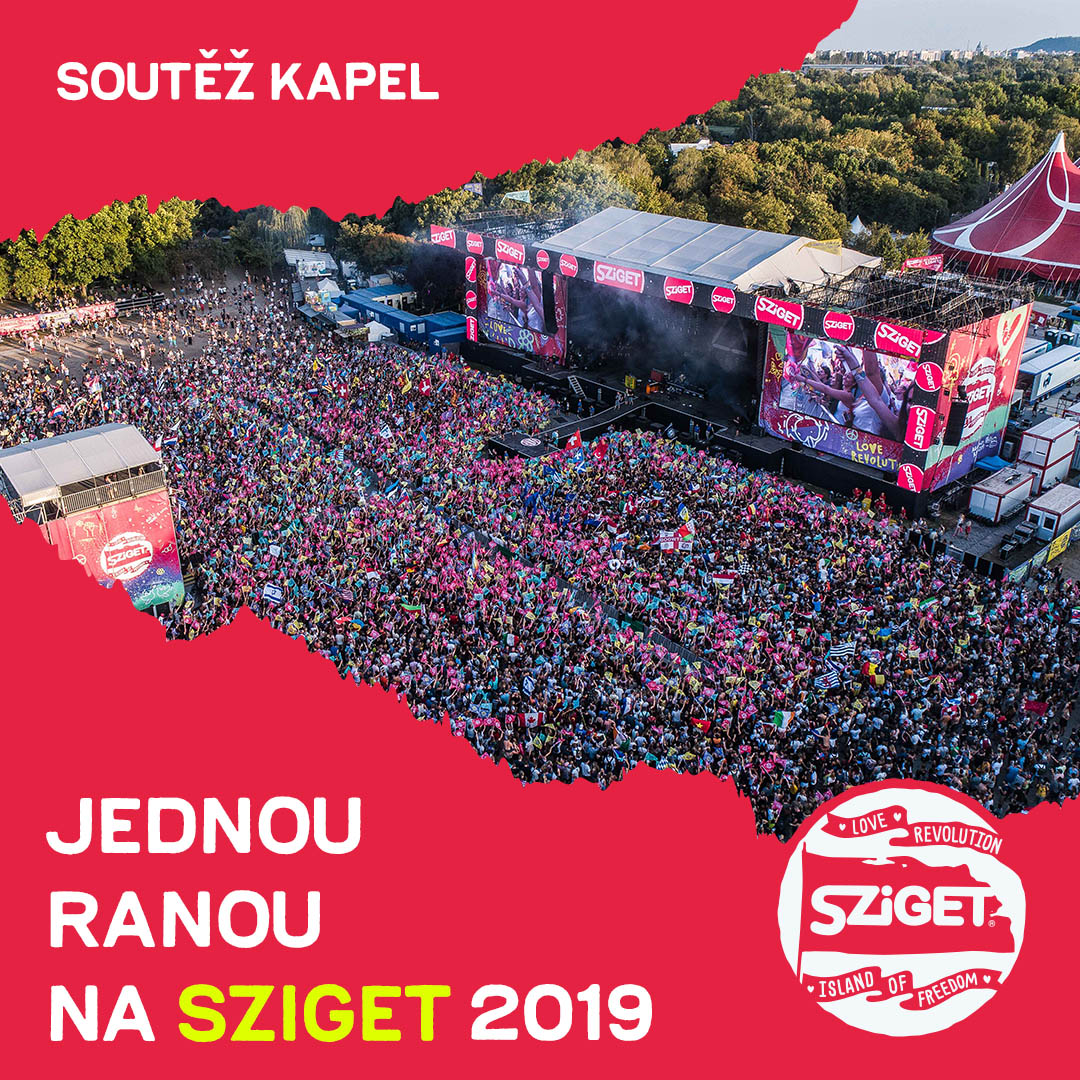 Jednou ranou na Sziget je šance pro talentované hudebníky zahrát si na světovém festivalu